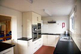 Thrumpton Village Hall Social Club Kitchen